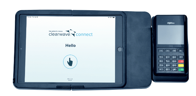 Patient Kiosk Check-In Tablet